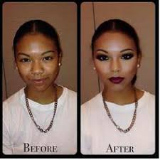 power of contouring makeup