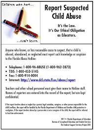 child abuse flyers child abuse look for the signs