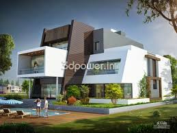 Modernhomedesign House D Interior Exterior Design Rendering Top - Interior exterior designs