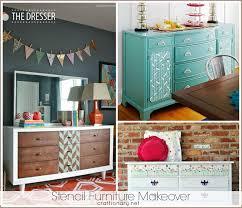 makeover furniture. great stencil furniture makeovers makeover