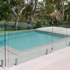 ss304 316 glass pool fence stainless steel rail glass holder