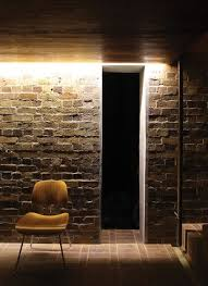 Image Bedroom Led Strip Lighting With Brick Wall Pinterest Material Palette James Russell Architect In 2019 Lights