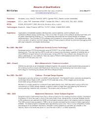 ... Ingenious Resume Qualifications Examples 11 Skills And ...