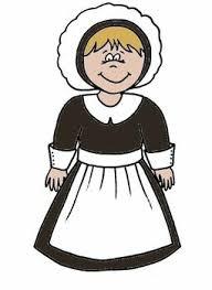 Pilgrim Girl Coloring Page Raovat24hinfo