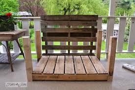 pallet wood patio chair build via funky junk interiors