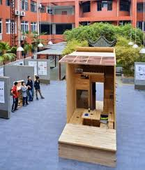 Small Picture Architecture Students in China Build 75 Sq Ft Tiny House