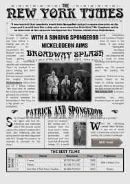 Newspaper Front Template 001 Free Newspaper Template For Word Striking Ideas Download