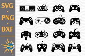 Want to make svg files for cricut and silhouette, to use in your projects or to sell on etsy or other market places, then this video will teach you how to. 11 Game Controller Svg Designs Graphics