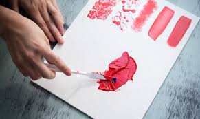 applying paint with a palette knife is an instant way to make your work look painterly and since it s no diffe from spreading frosting on a cake
