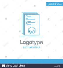 Design Check Categories Blue Logo Design For Categories Check List Listing Mark
