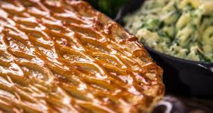 a perfect pie made with beef and guinness