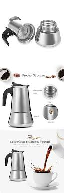 Learn about this small, popular coffee likewise, i drank a demitasse would indicate the quantity of espresso or coffee rather than the cup. Uarter Stainless Steel Stovetop Espresso Maker Moka Coffee Pot Coffee Maker 4 Demitasse Cup 2 Oz 200ml Coffee Maker Espresso Coffee Pot