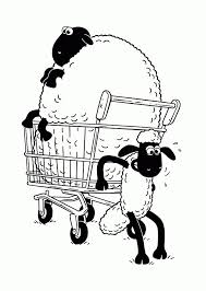 Shaun The Sheep Coloring Pages For Kids Printable Free Shaun The