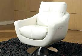 natuzzi leather swivel club chair furniture great chairs for living room white with carpet and wooden floor