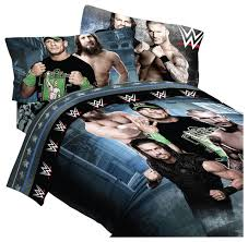 houzz wwe wwe wrestling bedding industrial strength