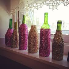 Home Decor With Wine Bottles decorate with wine bottles Design Decoration 57