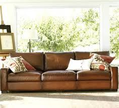 magnificent ideas leather sofa cushions and couch flat 7thhouse info