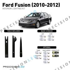 2013 Ford Fusion Interior Light Kit Ford Fusion Premium Led Interior Package 2010 2012