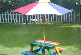 childrens wooden bench wooden picnic bench with parasol new in wooden toy box bench