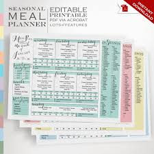 15 Meal Planner Ideas: Notepad & Printable Meal Planners | A Merry Life