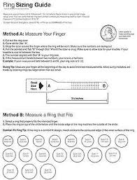 Big Ring Size Chart Ring Sizer Knowledge Size Chart Rings Print Box