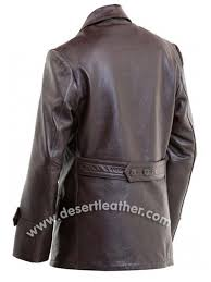 wwii german leather coat