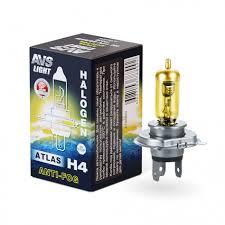 Галогенная <b>лампа AVS</b>/<b>ATLAS ANTI-FOG</b>/BOX желтый H4.12V.60 ...