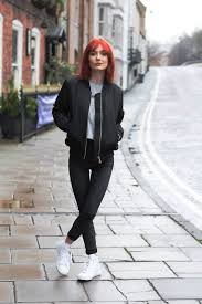 black jacket outfit ideas