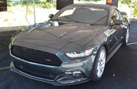 Magnetic 2015 Saleen 302 White Label Ford Mustang Coupe ...