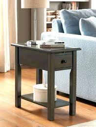 end table with usb port floor lamp and