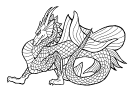 Small Picture Dragon Coloring Pages Coloring Coloring Pages