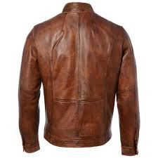 leather jacket tan edinburgh