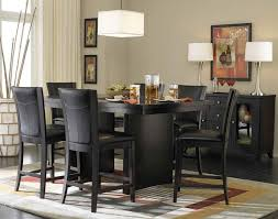 dining room sets counter high. sweet inspiration black counter height dining room sets 12 table and chairs 7 high