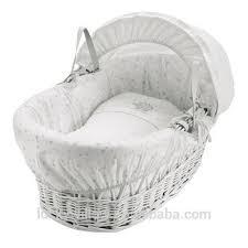 Handmade Willow Baby Sleeping Basket/baby Cribs/eco Wicker Bassinet ...