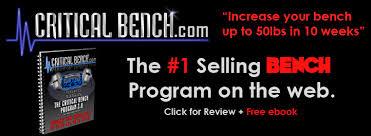 Critical Bench 2 0 Program Bodybuilding Chest Workout