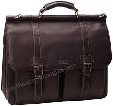 kenneth cole reaction mind your own business colombian leather double compartment dowel rod portfolio