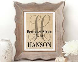personalized gift for her monogrammed wedding gift personalized wedding gift for couple gift for bride wedding decor couples gift