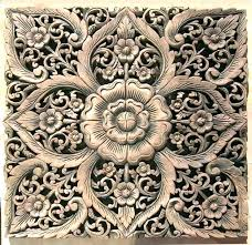 carved wooden wall medallion large wood medallions art panels image of panel wood medallion wall decor