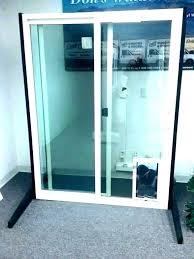 sliding glass door dog insert for slider doggie diy