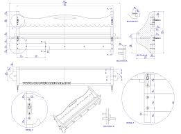 wooden wall shelf with pegs plan assembly 2d drawing