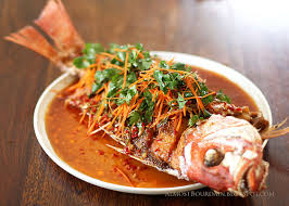chinese fried whole fish. Delighful Whole Recipe Crispy Whole Fish With Chili And Cilantro Sauce Intended Chinese Fried