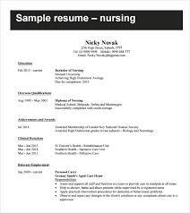 Nursing Student Resume Template Word Hvac Cover Letter Sample
