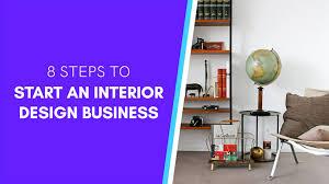 start an interior design business