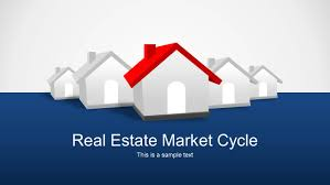 Powerpoint Real Estate Templates Real Estate Market Cycle Powerpoint Templates