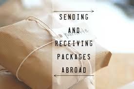 sending packages er correct