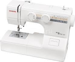 Купить <b>Швейная машина JANOME My</b> Style 100 белый в ...