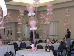Baby shower balloon decorations | Baby shower decoration ideas