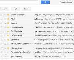 com Account Emails - Derrick Hacked Rose's From Ballislife Gmail joke