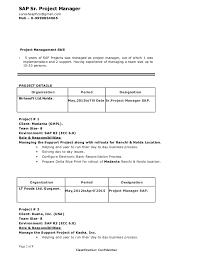 Suresh Sap Project Manager-Resume