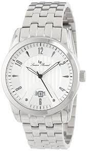 amazon com lucien piccard men s lp 12355 22s diablons silver dial lucien piccard men s lp 12355 22s diablons silver dial stainless steel watch